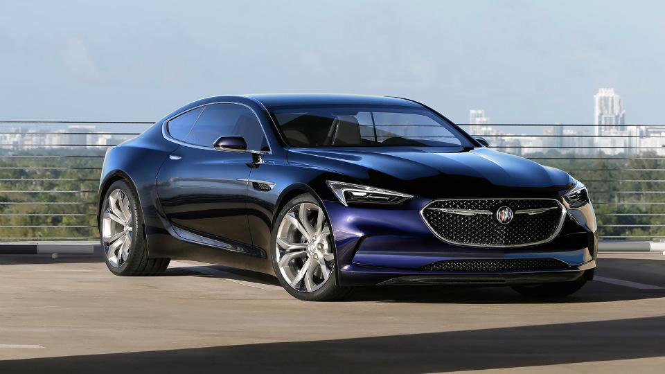 Buick построил 400-сильное концептуальное купе