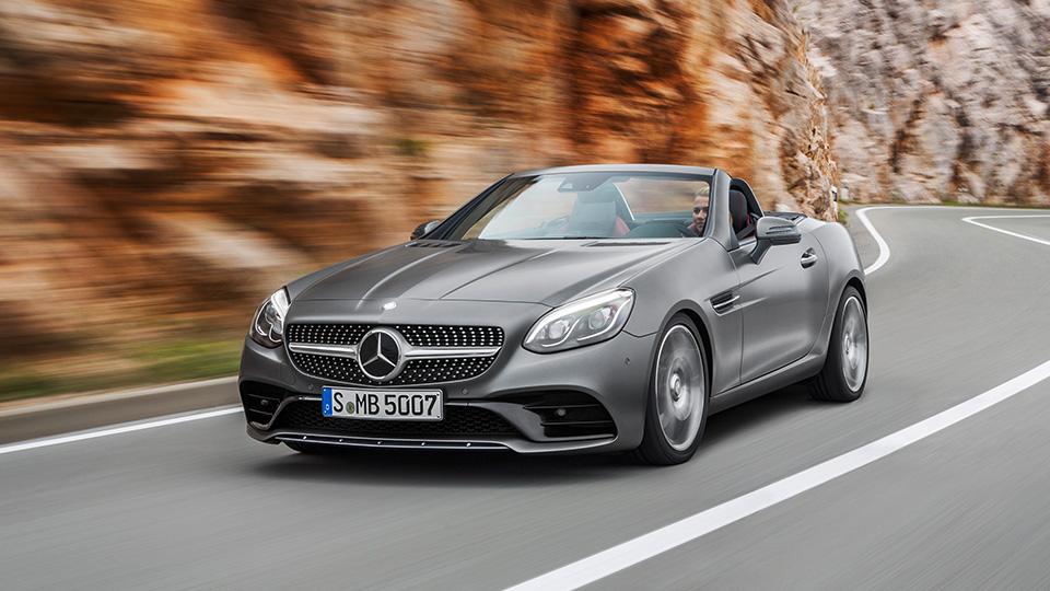 Mercedes-Benz переименовал родстер SLK