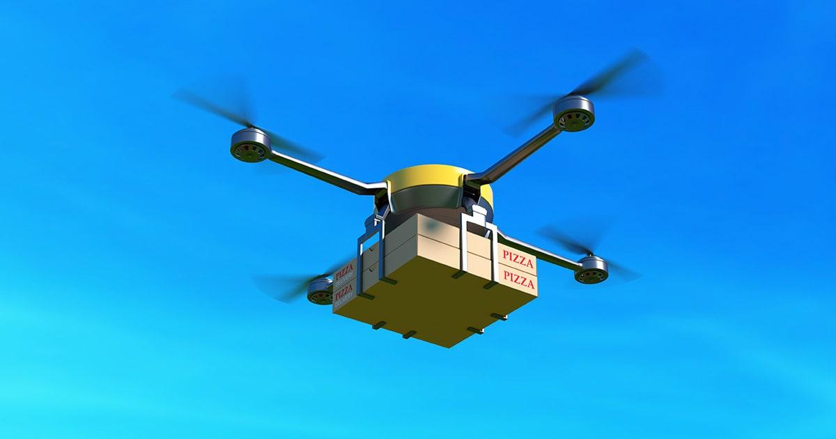 Uber хочет запустить сервис доставки дронами к 2021 году