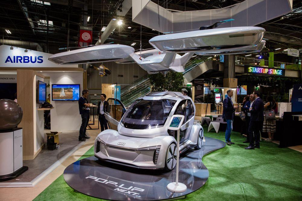 Audi и Airbus создадут беспилотные летающие такси