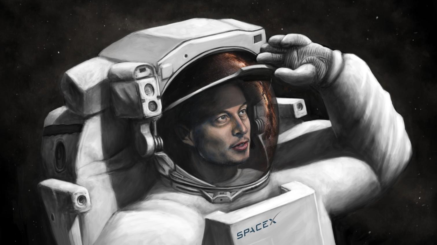 SpaceX Илона Маска запланировала в 2018 году полет на Марс
