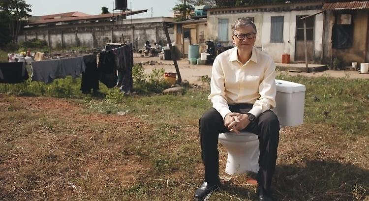 Билл Гейтс собирается сэкономить $233 млрд, заново изобретя туалет