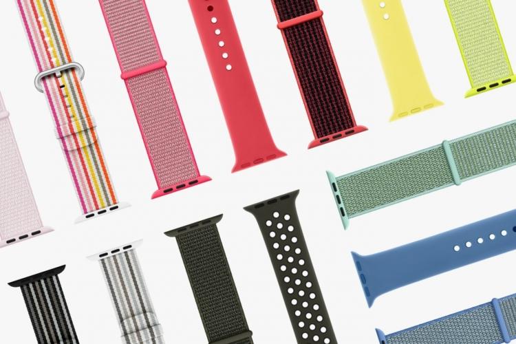 Hermès и Nike выпустили весеннюю коллекцию ремешков для часов Apple