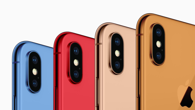 Слух дня: Apple выпустит разноцветные iPhone