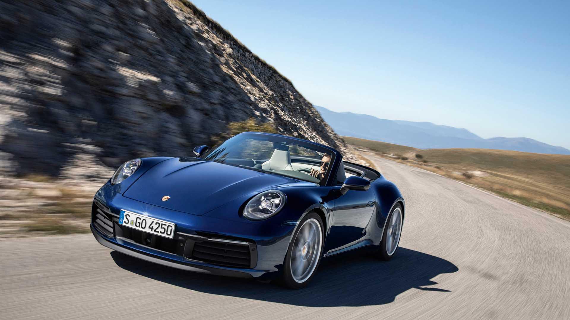 Новый Porsche 911 получил версию без крыши