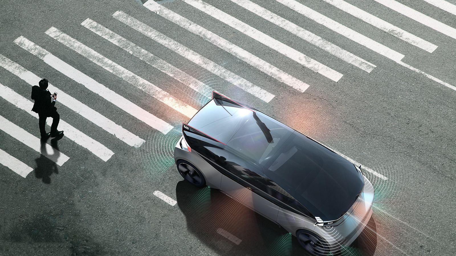 Volvo представила футуристический концепт-кар