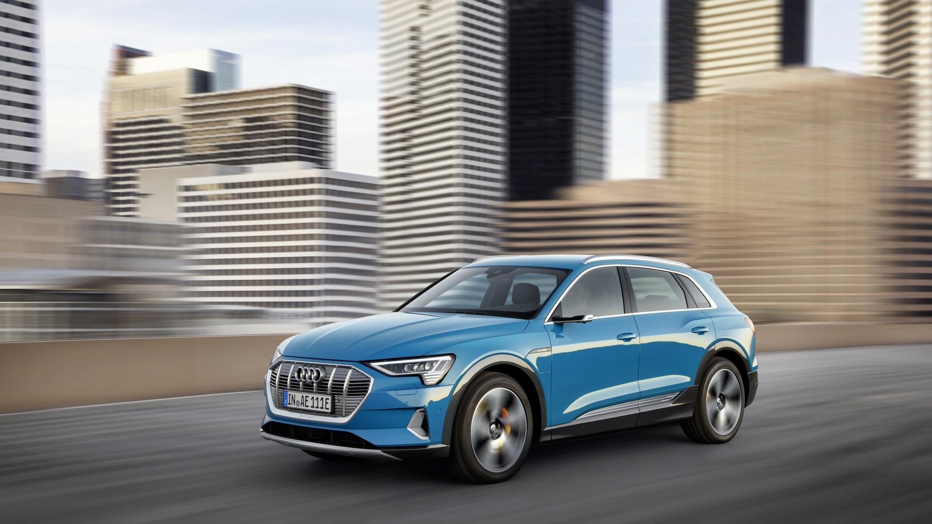 Audi создали электрический внедорожник с домашней зарядкой от Amazon