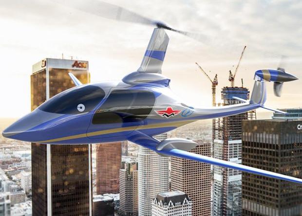Mooney International работают над воздушным электротакси (вместе с Uber)
