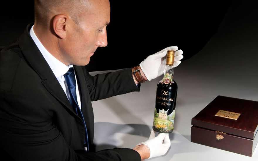 Вещь дня: самая дорогая в истории бутылка виски