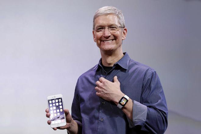 Цифра дня: Тим Кук получил $89,2 млн от Apple (как вознаграждение)