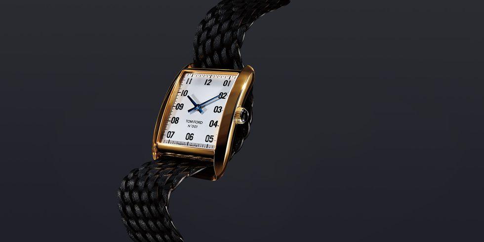 Tom Ford представил первую коллекцию часов