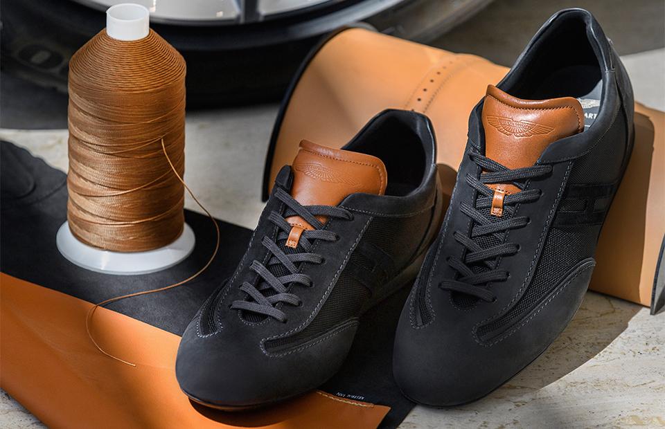 Aston Martin создал кроссовки совместно с Hogan