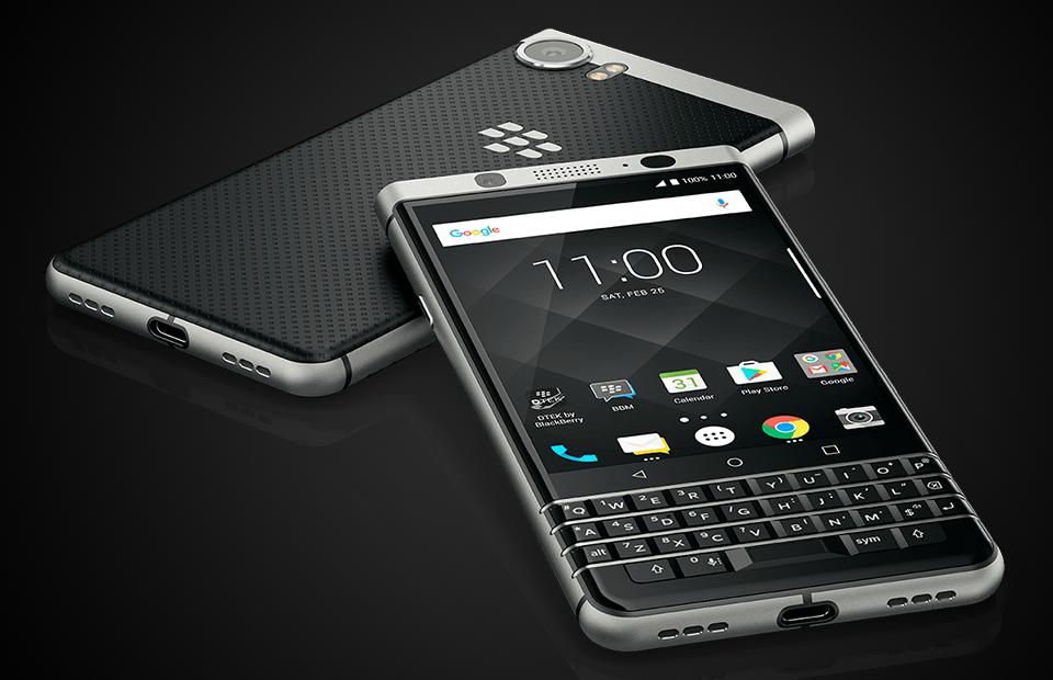 Последний самурай: смартфон BlackBerry KEYone