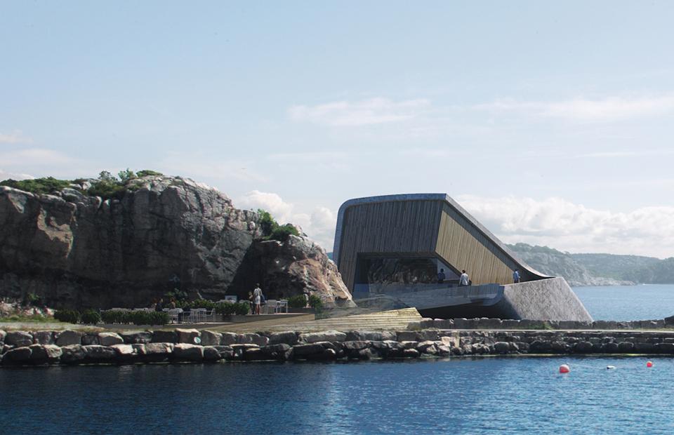 Место дня: подводный ресторан в Норвегии