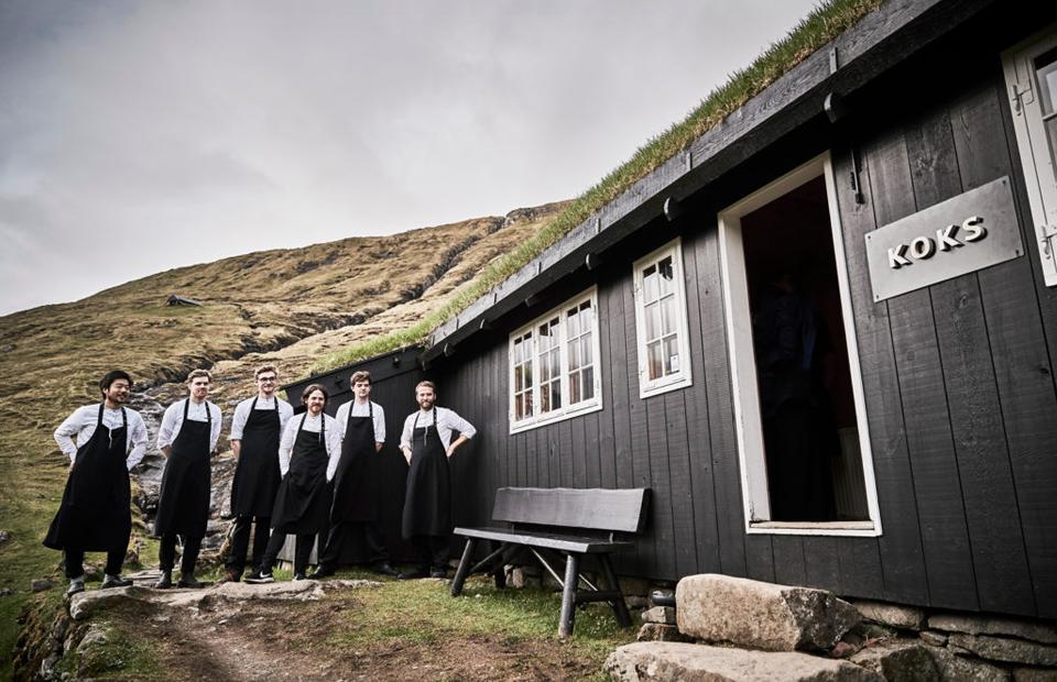 Место дня: мишленовский ресторан-сарай на Фарерских островах