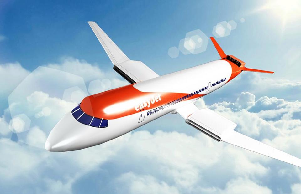 """EasyJet начнет тестировать """"самолеты на батарейках"""""""