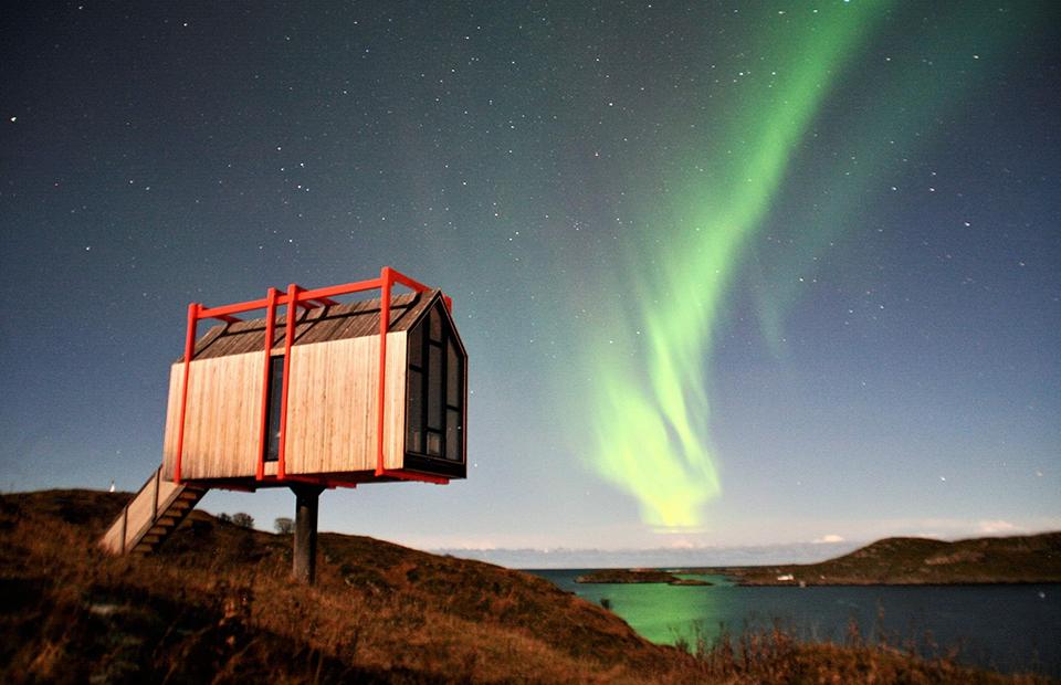 Место дня: отель для уединения в Норвегии