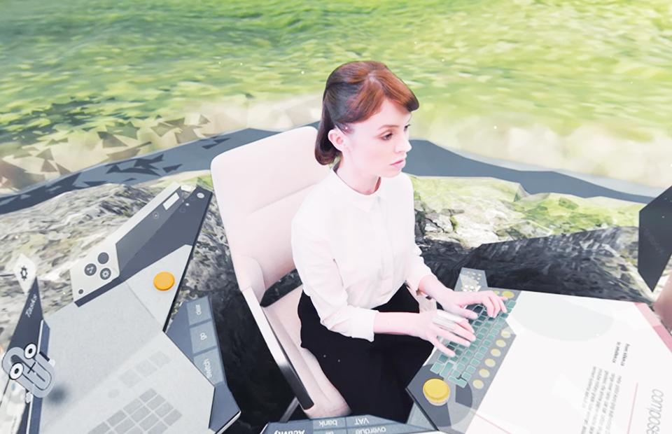 Видео дня: как выглядит рабочее место будущего