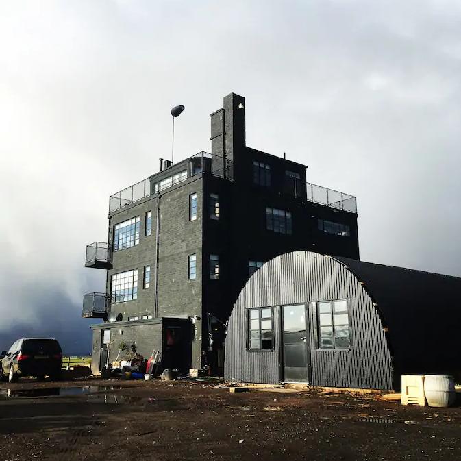 Место дня: диспетчерский пункт базы ВМФ вШотландии сдают варенду туристам