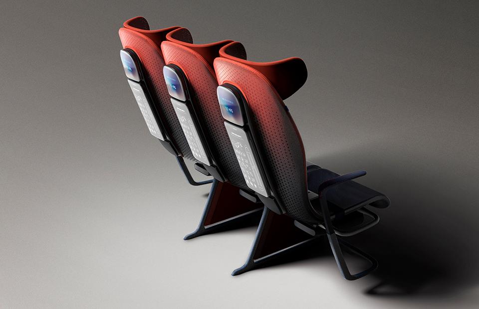 Кресла Airbus будут управляться через приложение
