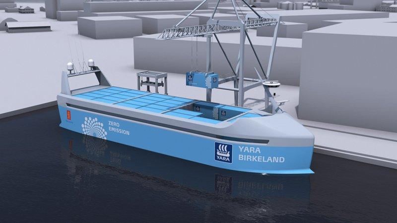 Норвежцы придумали первый беспилотный корабль