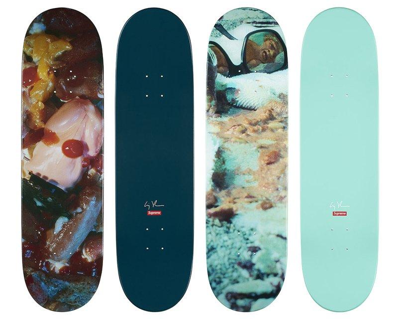 Supreme создал скейтерские доски совместно с Синди Шерман