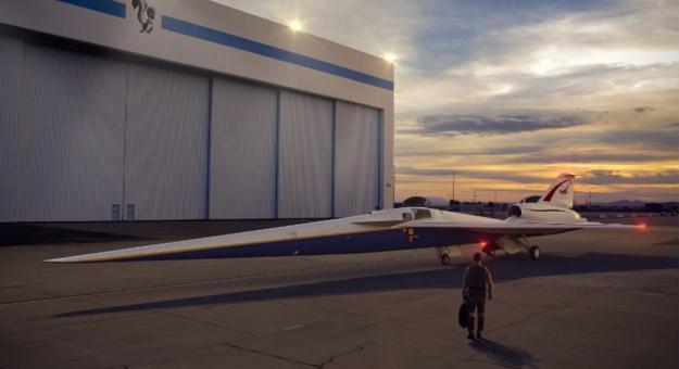 NASA создаст бесшумный пассажирский самолет