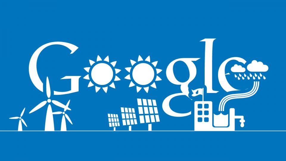 Google полностью перейдёт на возобновляемую энергию