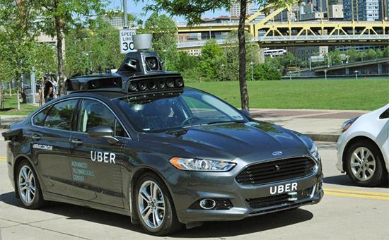 Uber впервые показал свой беспилотный автомобиль