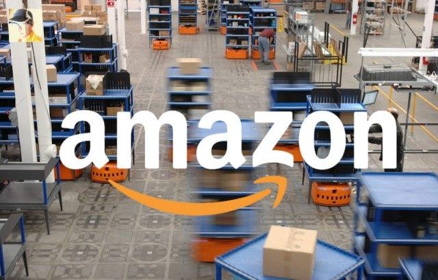 Amazon разработал проект летающего склада