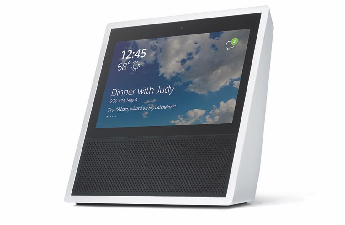Amazon представила «умную» колонку с экраном