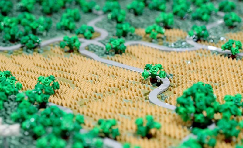 Хобби дня: инженер построил офис Apple из Lego