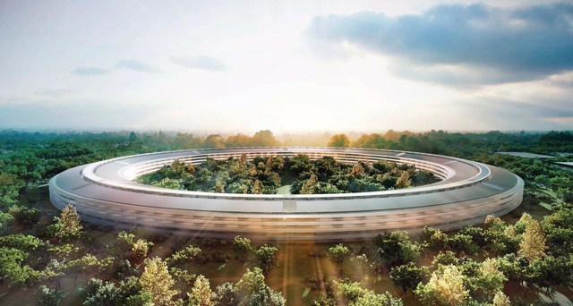 Проект нового экологичного кампуса для штаб-квартиры  Apple