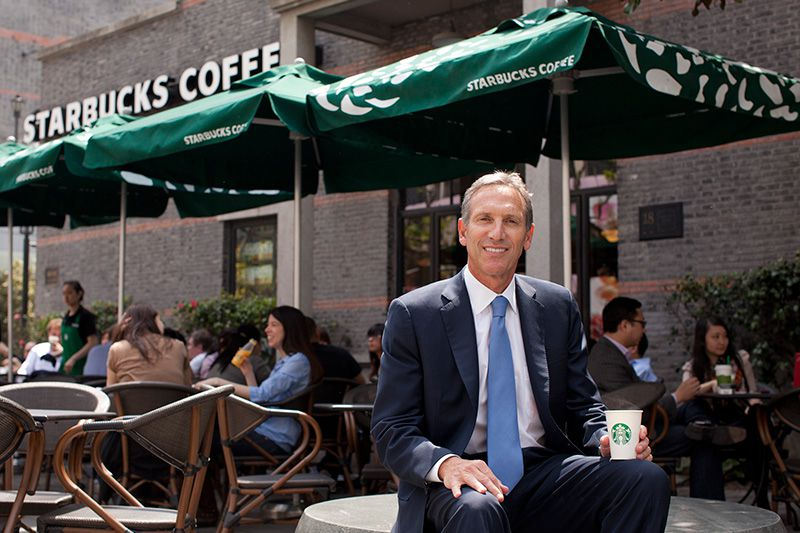 """""""Я вливаю сердце в каждую чашку кофе"""" : Говард Шульц, Starbucks"""