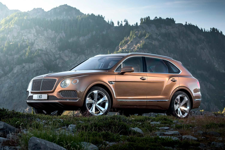 Bentley Bentayga превратится в кросс-купе