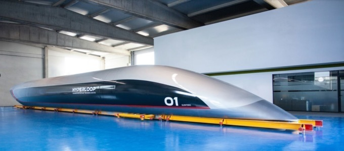 Представлен первый тестовый образец капсулы Hyperloop