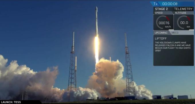 SpaceX успешно запустила телескоп для поиска экзопланет