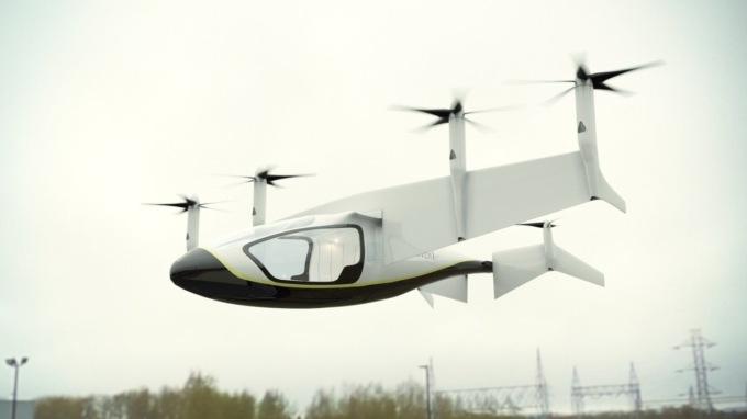Rolls-Royce представила концепт летающего такси