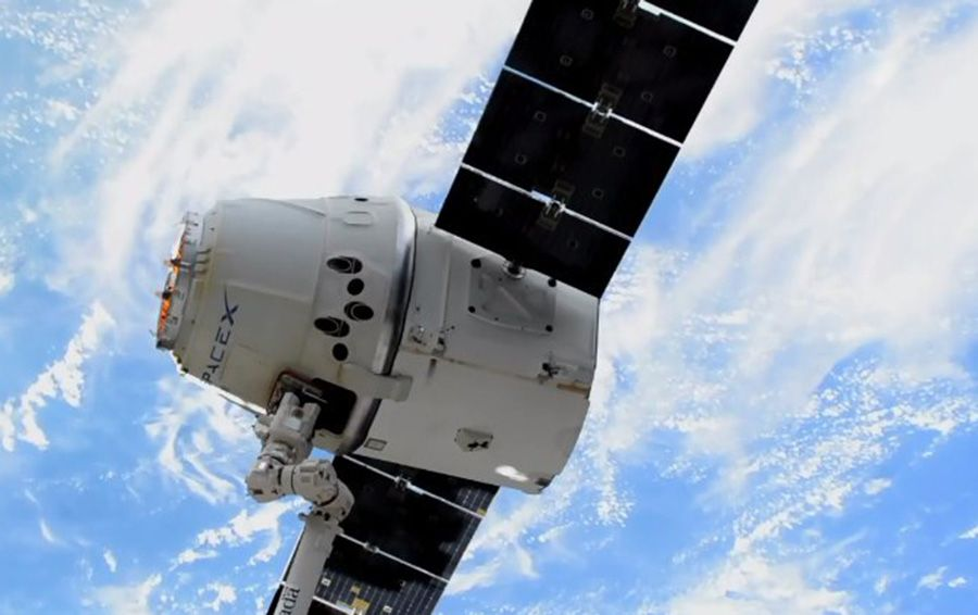SpaceX вернула на Землю повторно использованный грузовик Dragon
