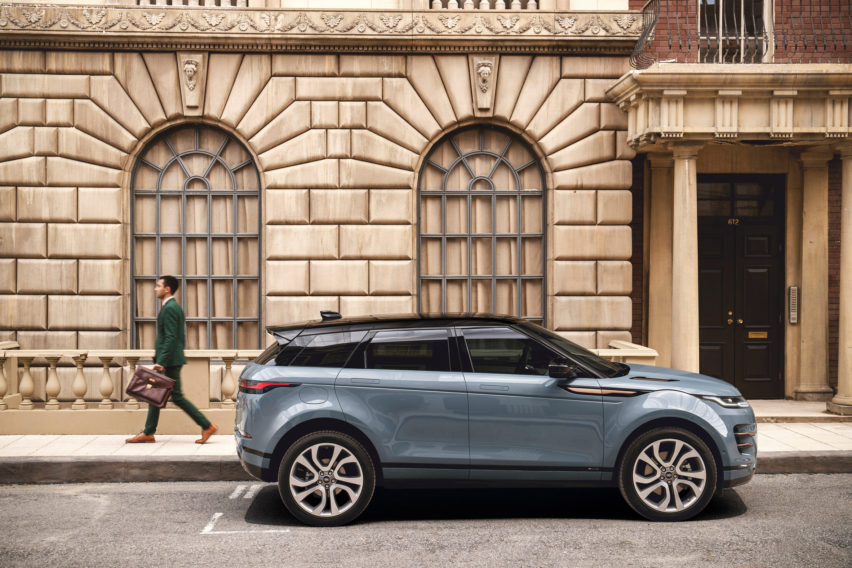 Range Rover представили новый Evoque