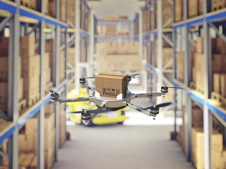 В супермаркетах появятся дроны-консультанты