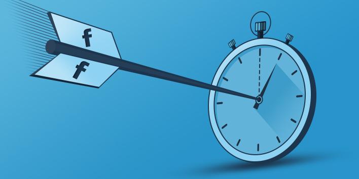 Предложение дня: Facebook ввела новую единицу измерения времени