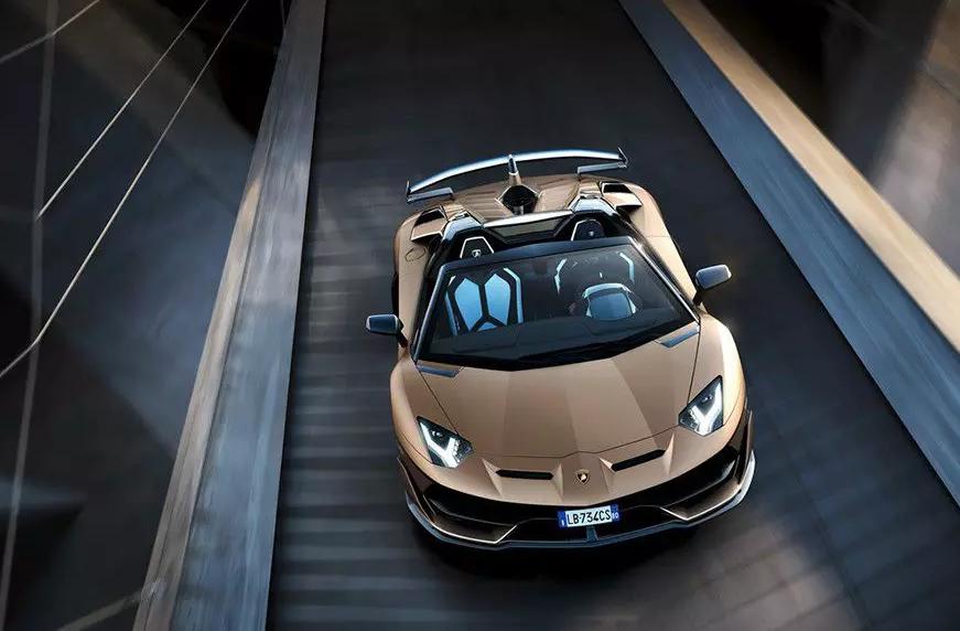 Родстер Aventador SVJ оказался самым дорогим Lamborghini