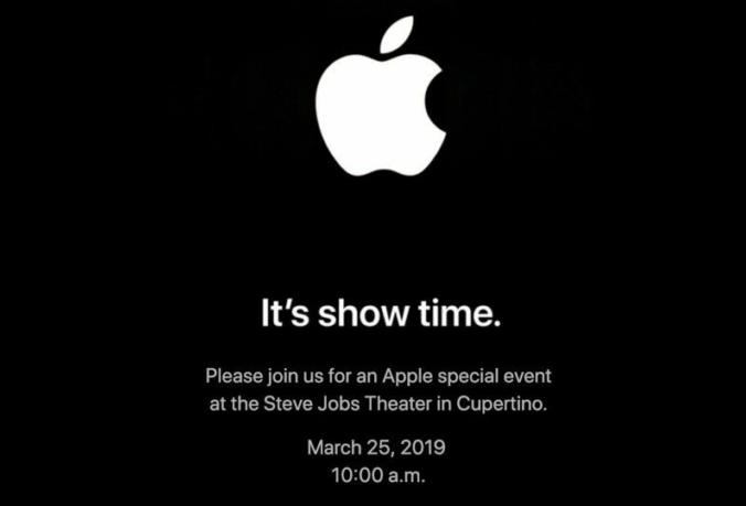 Apple анонсировала новую презентацию