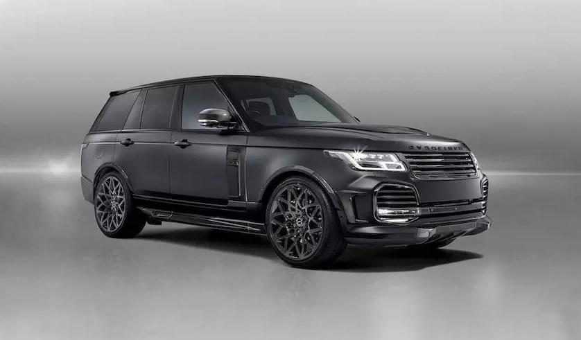 Вещь дня: очень черный Range Rover