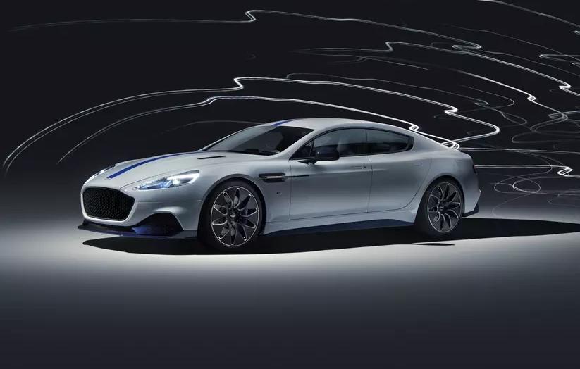 Aston Martin представил свою первую электрическую модель