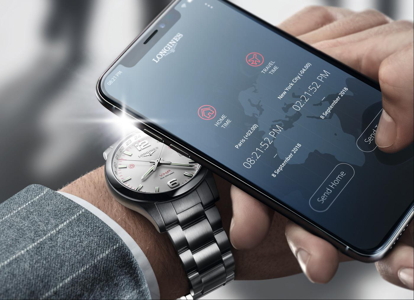 Longines представили часы, которыми можно управлять с помощьюсмартфона