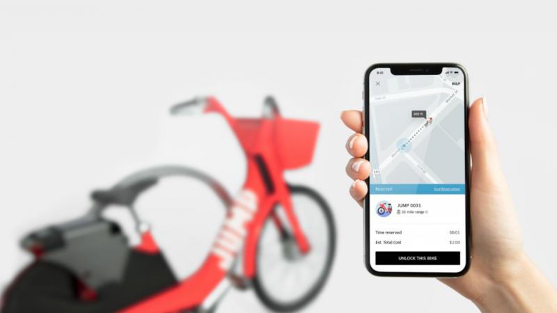 Uber запускает услугу проката велосипедов
