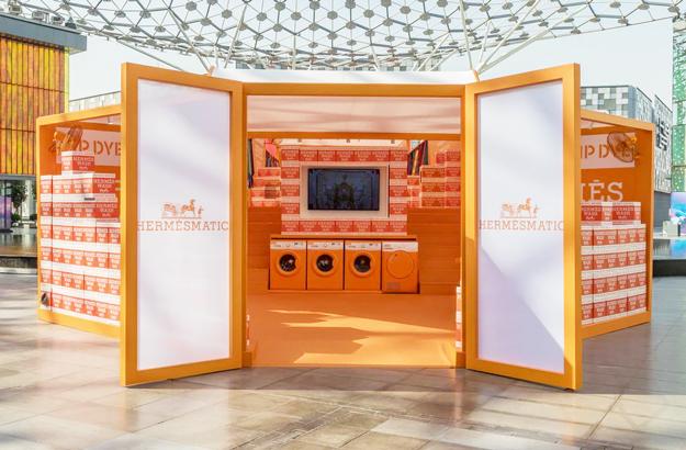 Hermès открывают прачечную в Париже