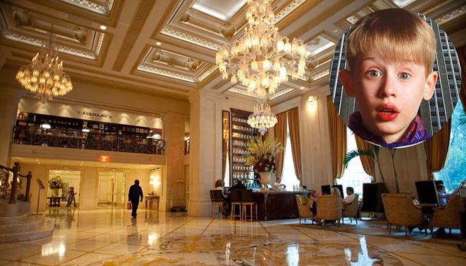 """Предложение дня: отель Plaza предлагает прожить день из фильма """"Один дома"""""""